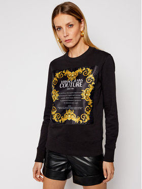 Versace Jeans Couture Versace Jeans Couture Džemperis B6HWA7FE Juoda Regular Fit