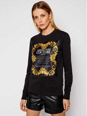 Versace Jeans Couture Versace Jeans Couture Majica dugih rukava B6HWA7FE Crna Regular Fit