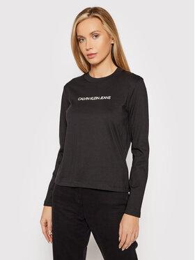Calvin Klein Jeans Calvin Klein Jeans Блузка J20J217284 Чорний Regular Fit