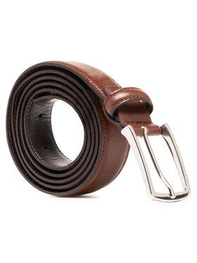 Jack&Jones Jack&Jones Pánský pásek Jacchristopher Belt Noos 12136795 Hnědá