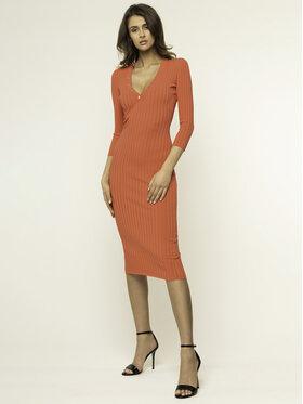 Elisabetta Franchi Elisabetta Franchi Kasdieninė suknelė AM-13S-01E2-V319 Raudona Slim Fit