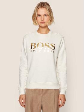 Boss Boss Mikina C Elaboss 50436776 Bílá Regular Fit