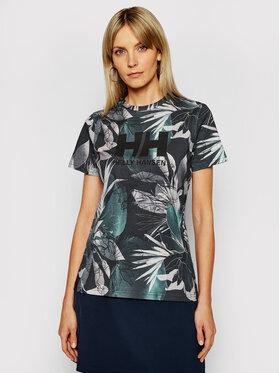 Helly Hansen Helly Hansen T-Shirt Logo 34112 Tmavomodrá Classic Fit