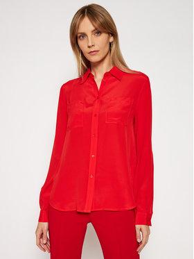 Pinko Pinko Koszula Nora 20211 BLK01 1G15NX Y6WB Czerwony Regular Fit