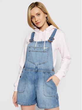 Wrangler Wrangler Jeans kombinezon Bib W29QZB26L Plava Relaxed Fit