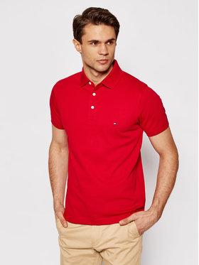 Tommy Hilfiger Tommy Hilfiger Polo marškinėliai 1985 MW0MW17771 Raudona Slim Fit