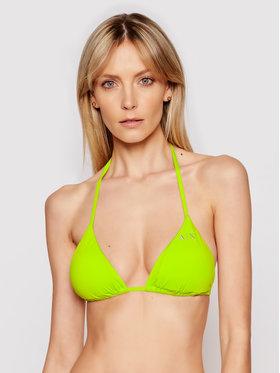 Armani Exchange Armani Exchange Góra od bikini 943014 1P500 07483 Zielony
