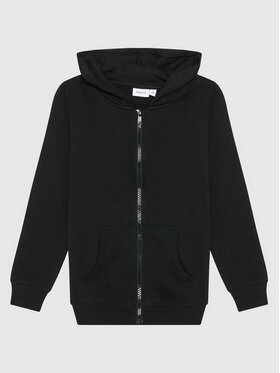 NAME IT NAME IT Bluza Sweat 13197665 Czarny Regular Fit