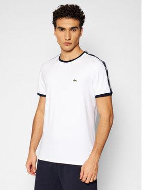 Lacoste Lacoste Marškinėliai TH0146 Balta Slim Fit