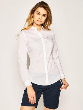 Tommy Jeans Tommy Jeans Πουκάμισο DW0DW04432 Λευκό Slim Fit