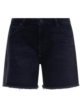 Lee Lee Szorty jeansowe Boyfriend L37NCPOZ Czarny Relaxed Fit