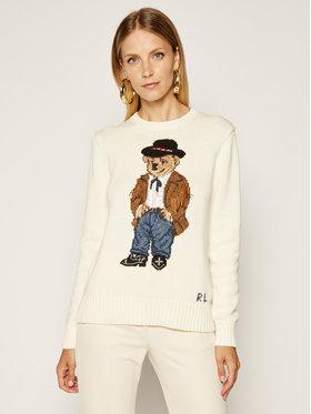 Polo Ralph Lauren Polo Ralph Lauren Megztinis Chic 211801543001 Smėlio Regular Fit