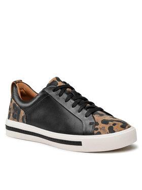 Clarks Clarks Sneakersy Un Maul Lace 261624484 Czarny