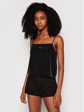 Calvin Klein Jeans Calvin Klein Jeans Топ J20J215597 Черен Regular Fit