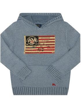 Polo Ralph Lauren Polo Ralph Lauren Megztinis Summer II 323787117001 Mėlyna Regular Fit