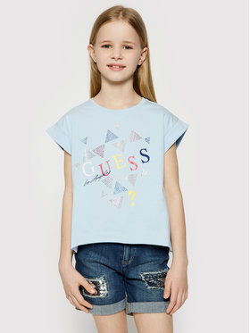 Guess Guess T-shirt J1GI05 K6YW1 Bleu Regular Fit