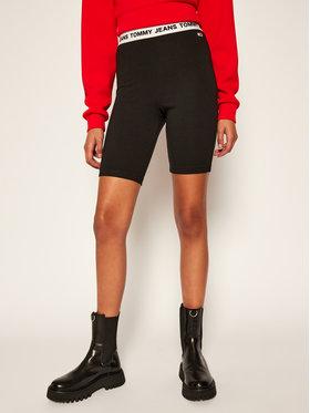 Tommy Jeans Tommy Jeans Спортни шорти DW0DW08609 Черен Slim Fit