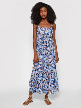 Seafolly Seafolly Ljetna haljina Thrift Shop Tiered 54254-DR Plava Relaxed Fit