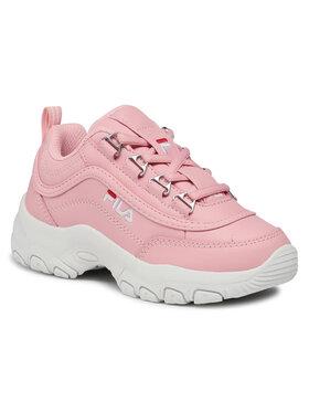 Fila Fila Sneakersy Strada Low Kids 1010781.73W Różowy