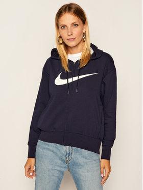 NIKE NIKE Sweatshirt Dri-Fit Get Fi CQ9303 Dunkelblau Loose Fit