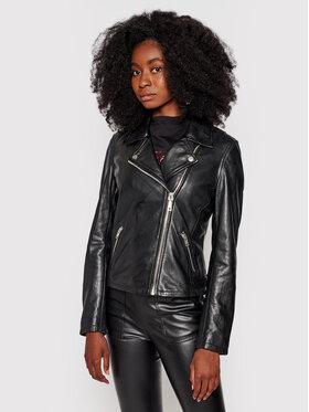 Guess Guess Prijelazna jakna Moto W0RN00 R0O00 Crna Slim Fit