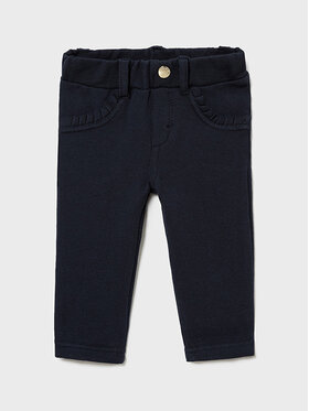 Mayoral Mayoral Текстилни панталони 560 Тъмносин Regular Fit