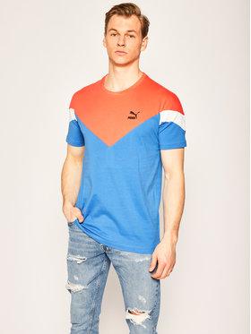 Puma Puma T-Shirt Iconic Mcs Tee 596444 Niebieski Slim Fit
