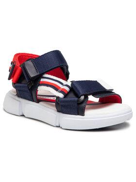 Tommy Hilfiger Tommy Hilfiger Sandały Velcro Sandal T3B2-31111-1176X007 Granatowy