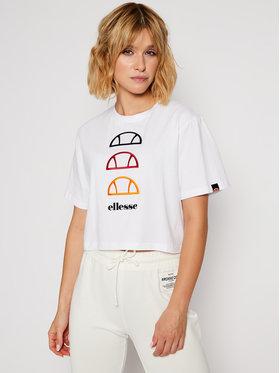 Ellesse Ellesse T-Shirt Deway SGG09814 Biały Regular Fit