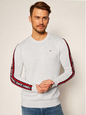 Tommy Jeans Tommy Jeans Pullover Sleeve Tape DM0DM09464 Grau Regular Fit