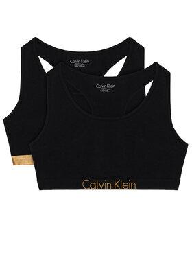 Calvin Klein Underwear Calvin Klein Underwear Komplektas: 2 liemenėlės G80G800370 Juoda