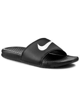 Nike Nike Pantoletten Benassi Swoosh 312618 011 Schwarz