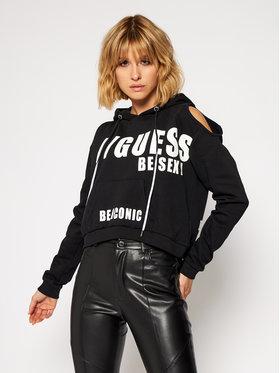 Guess Guess Bluza Alyse W0BQ52 K68I0 Czarny Regular Fit