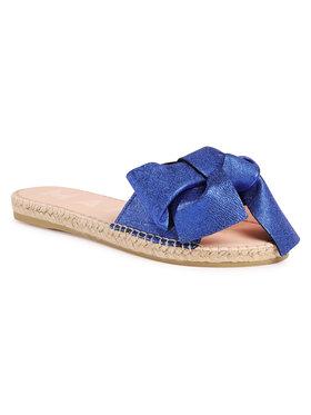 Manebi Manebi Espadrilės Sandals With Bow O 1.6 J0 Mėlyna