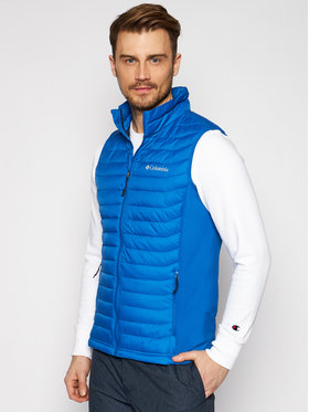 Columbia Columbia Vestă Powder Pass Vest 1842414 Bleumarin Regular Fit