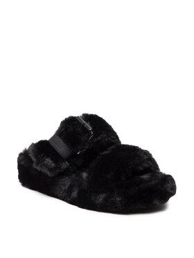 Skechers Skechers Пантофи Cozy Wedge 167238/BBK Черен