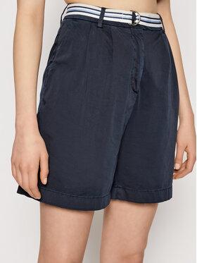Tommy Hilfiger Tommy Hilfiger Pantaloncini di tessuto Modern WW0WW30835 Blu scuro Regular Fit