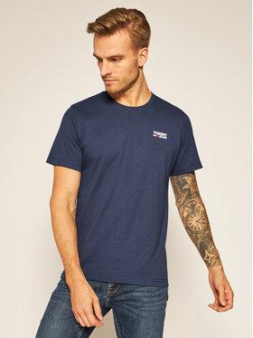 Tommy Jeans Tommy Jeans T-Shirt Corp Logo C Neck DM0DM09588 Dunkelblau Regular Fit