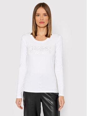 Guess Guess Bluzka Izaga Tee W1BI03 J1311 Biały Slim Fit