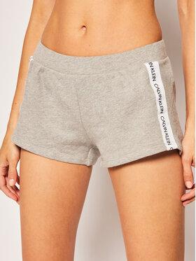 Calvin Klein Swimwear Calvin Klein Swimwear Szorty plażowe Logo Tape KW0KW01004 Szary Regular Fit