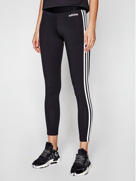 adidas adidas Colanți Essentials 3-Stripes DP2389 Negru Extra Slim Fit
