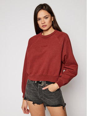 Levi's® Levi's® Sweatshirt Vintage Raglan 18722-0003 Dunkelrot Regular Fit