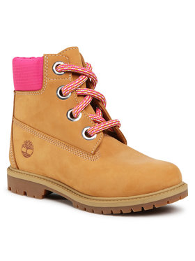 Timberland Timberland Παπούτσια πεζοπορίας Heritage 6 In Waterproof Boot TB0A2Q7S2311 Καφέ