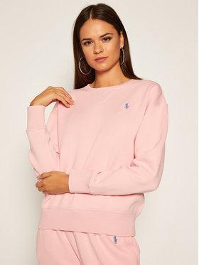 Polo Ralph Lauren Polo Ralph Lauren Mikina Lsl 211794395005 Růžová Regular Fit