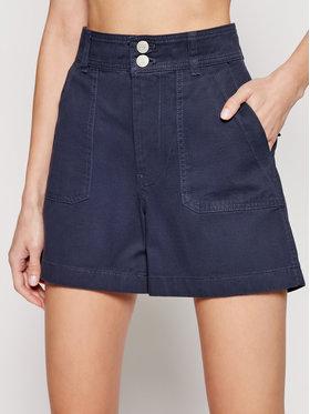 Tommy Jeans Tommy Jeans Pantaloncini di jeans Harper High DW0DW09753 Blu scuro Regular Fit
