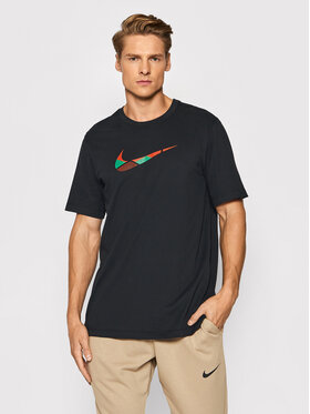 Nike Nike Póló Team Kenya CW0935 Fekete Regular Fit