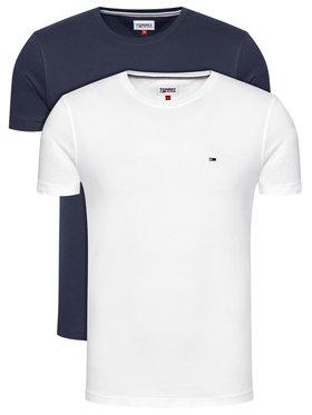 Tommy Jeans Tommy Jeans 2-dílná sada T-shirts Tjm 2 Pack Cneck Tees DM0DM10705 Barevná Slim Fit