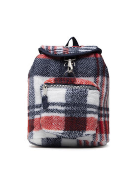 Tommy Jeans Tommy Jeans Plecak Tjw Heritage Check Backpack AW0AW10744 Granatowy