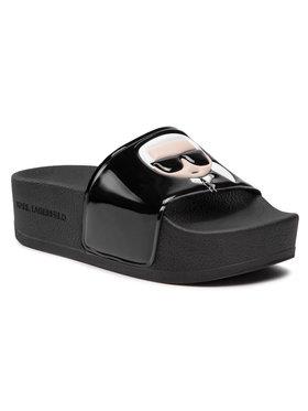 KARL LAGERFELD KARL LAGERFELD Mules / sandales de bain KL80806 Noir