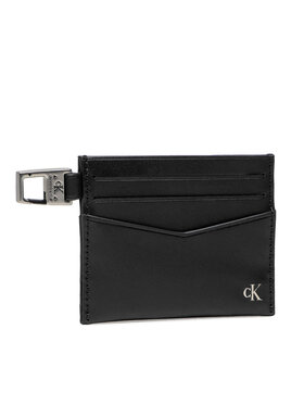 Calvin Klein Jeans Calvin Klein Jeans Etui na karty kredytowe Mono Hardware Cardcase 6cc K50K507219 Czarny